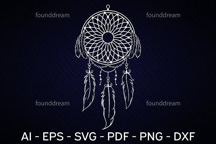 Dream Catcher Art   SVG, vector files