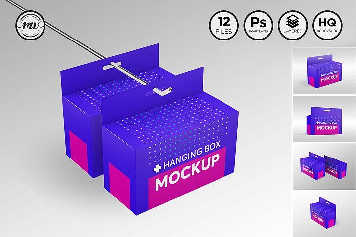 Box with Hanger Mockup V.2