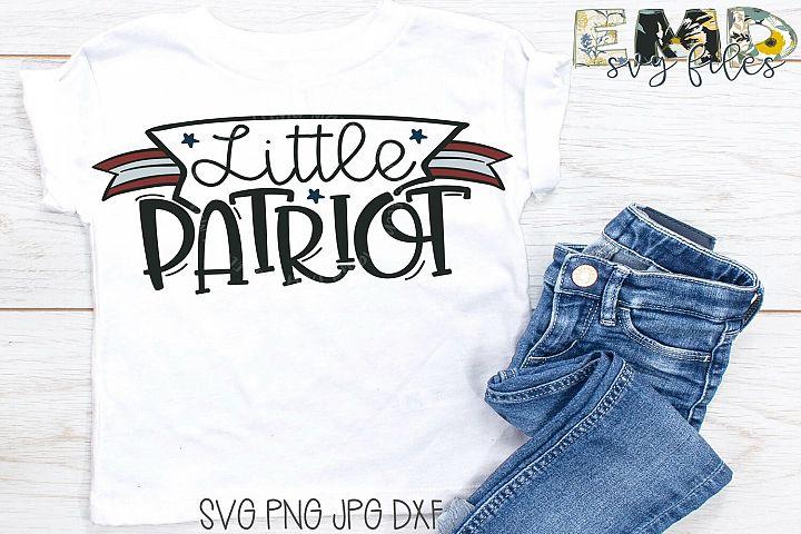 Little Patriot | 4th of July Svg