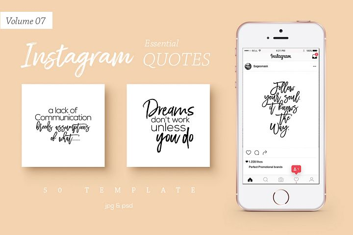50 Instagram Essential Quotes Vol. 7