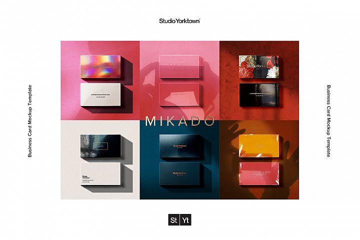 Mikado - Business Card Mockup Template