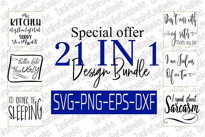 Funny SVG/Clip art bundle