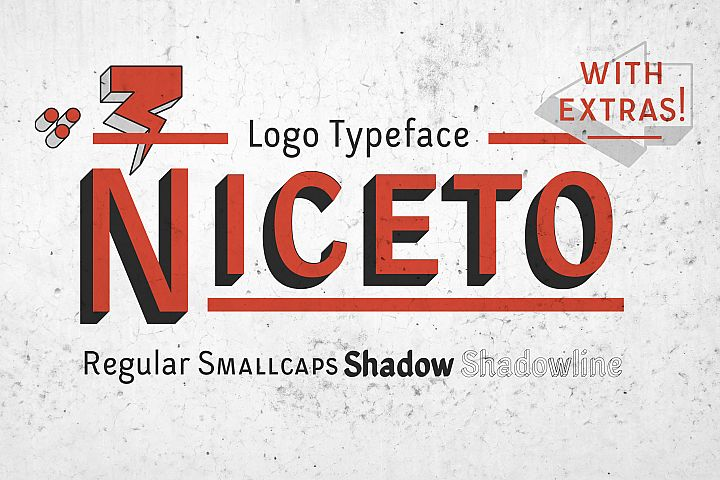 Niceto Typeface