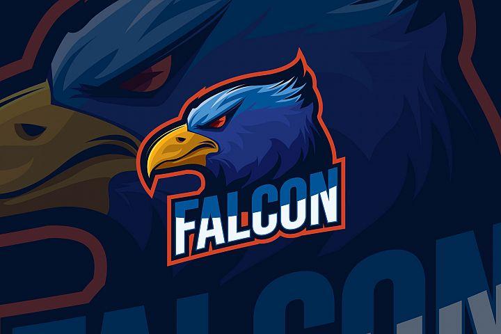 Falcon Eagle Esport Logo Design