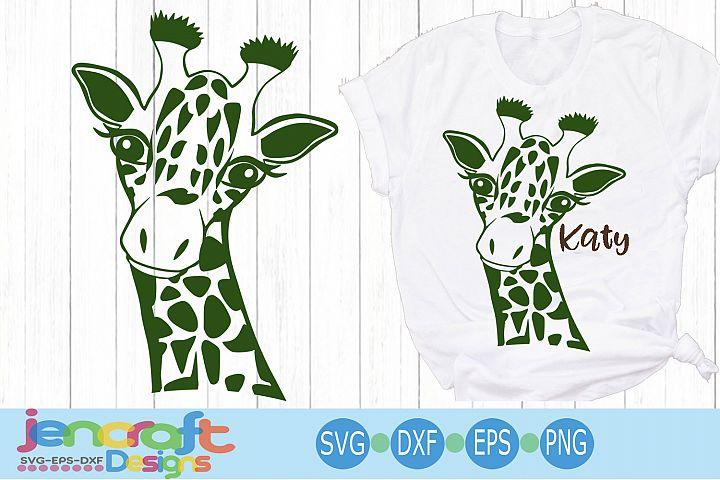 Cute Giraffe Face svg,Baby Safari Giraffe head cut file
