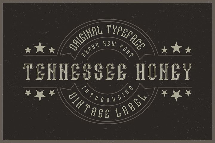 Tennessee honey font
