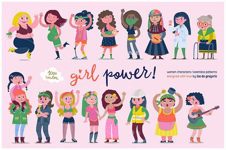 Girl Power! Women Characters