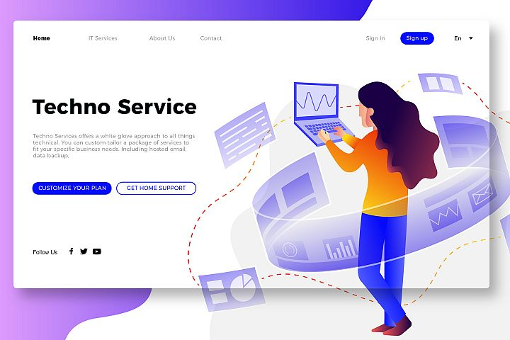 IT Service - Banner Page