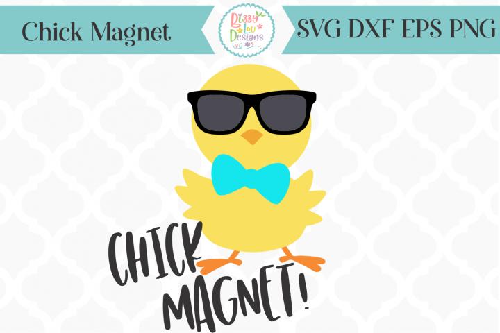 Chick Magnet SVG I Easter SVG I Easter Cutting File