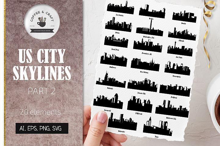 US City Skylines Part 2