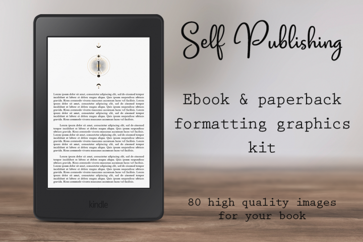 Self-Publishing Book Formatting Graphics Version 28