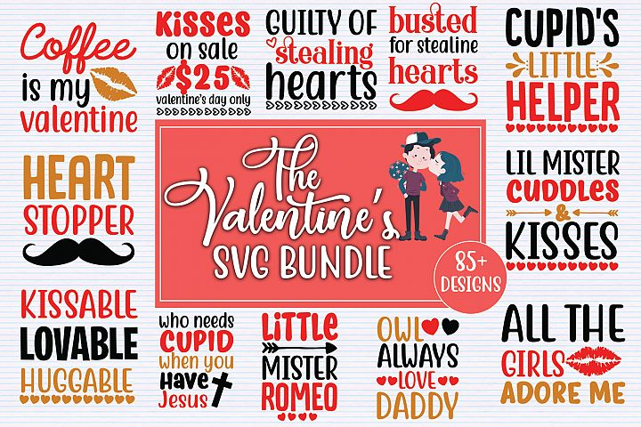 Valentines Day SVG Big Bundle