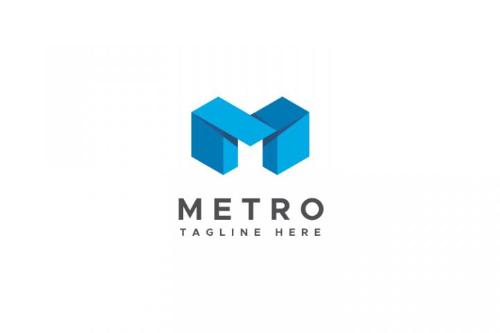 Metro - Letter M Logo