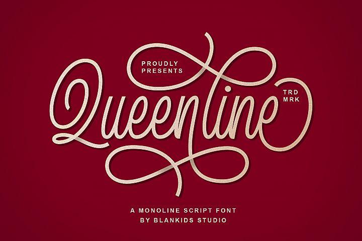 Queenline Script
