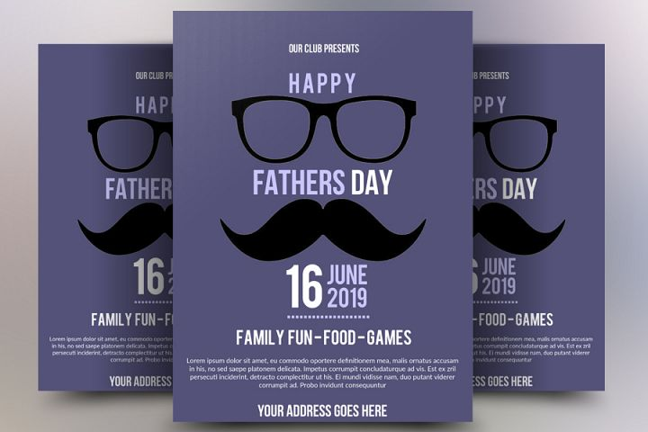 Father Day Flyer