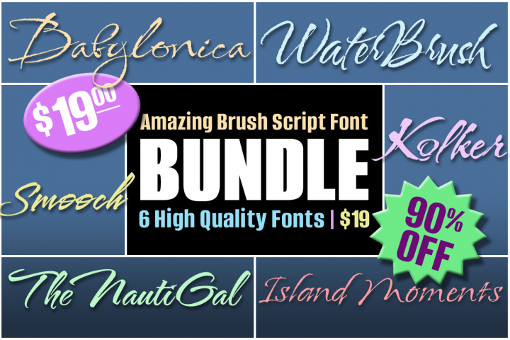 Amazing Brush Scripts-- HUGE DISCOUNT!