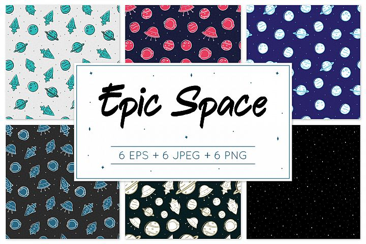 Epic Space - Pattern Design