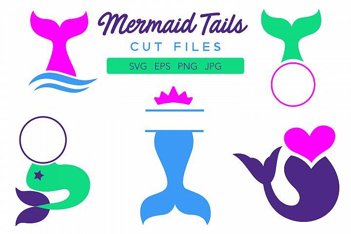 Mermaid Tails Cut Files