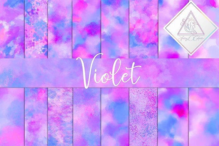 Violet Digital Paper