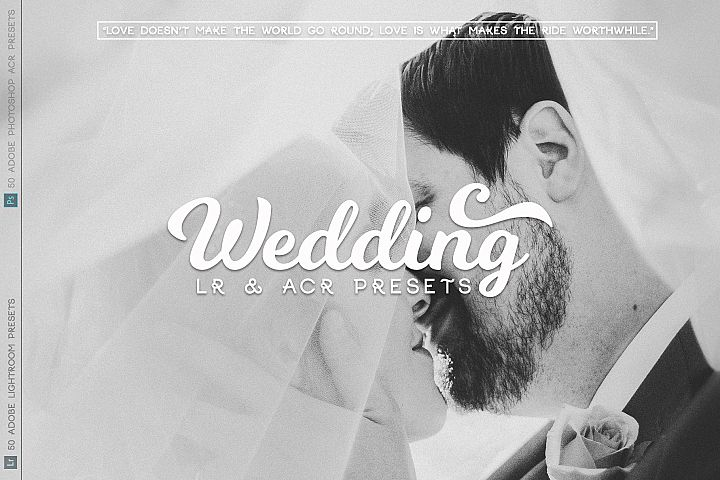 Wedding Lr and ACR Presets