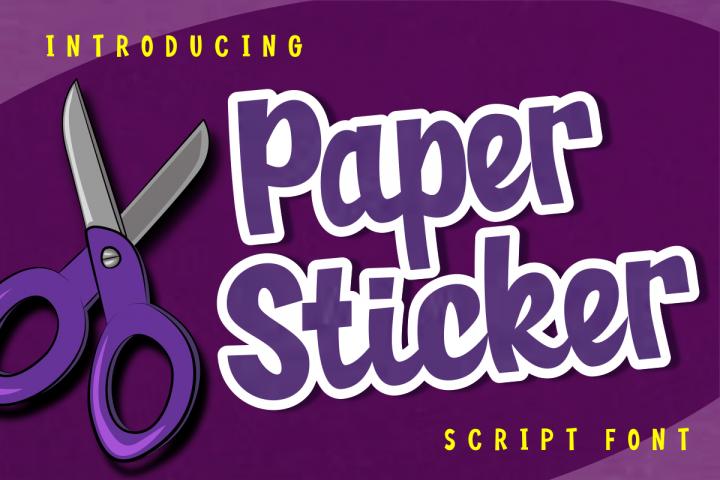 Paper Sticker
