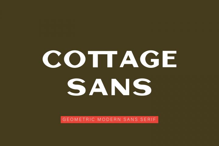 Cottage Sans - 1950s Style