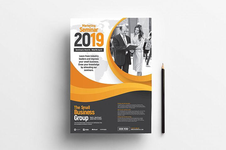 Corporate Poster Flyer Template
