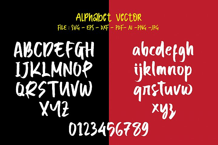 Alphabet Vector 03_Break Types