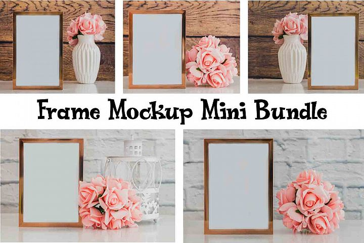 Frame Mockup Styled Stock Photography Stock photo