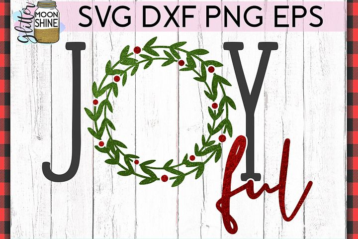 Joyful Christmas SVG DXF PNG EPS Cutting Files