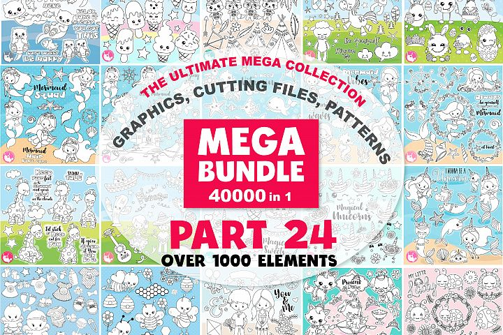 MEGA BUNDLE PART24 - 40000 in 1 Full Collection