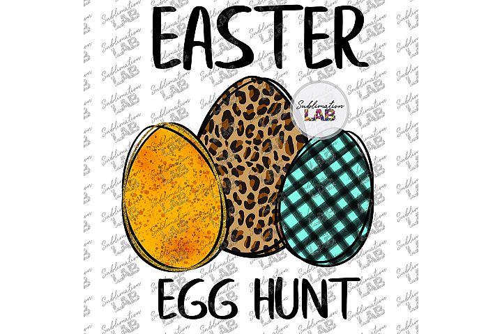 Easter Egg Hunt Leopard Egg Tshirt Sublimation PNG