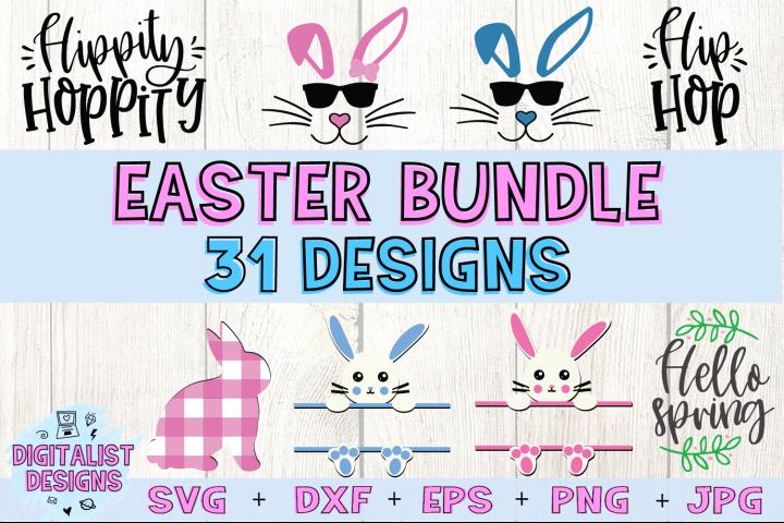 Easter SVG Bundle 31 Designs