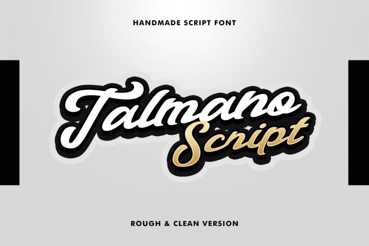 Talmano Script Font