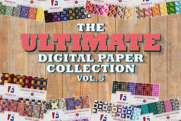 The ULTIMATE Digital Paper Bundle Vol 5