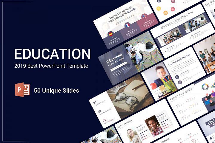 Best Education PowerPoint Template