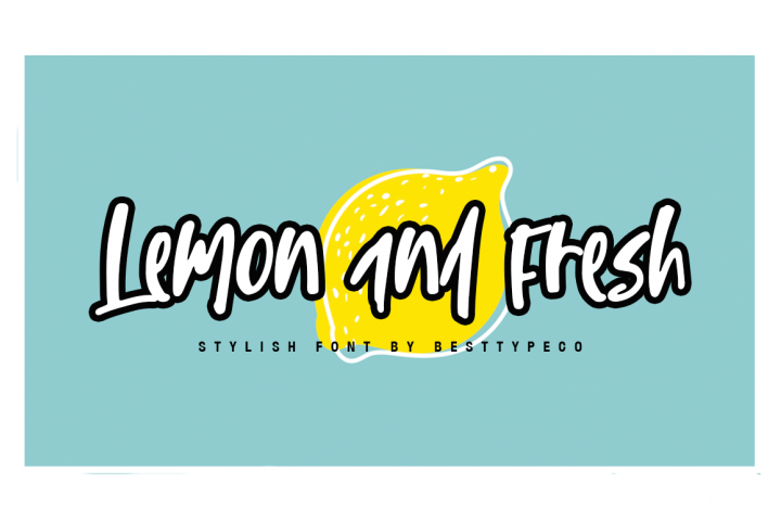 Lemon and Fresh