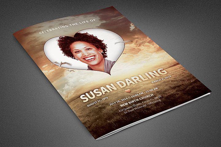 Life of Love Funeral Program