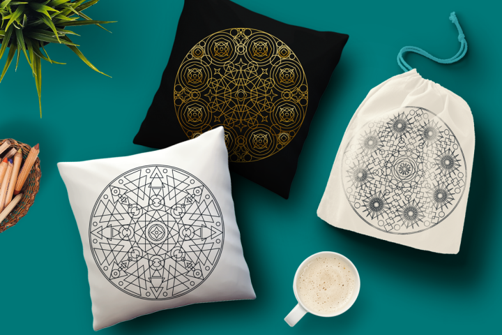 Sacred Geometric Mandalas Collection