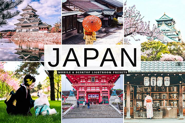 Japan Mobile & Desktop Lightroom Presets
