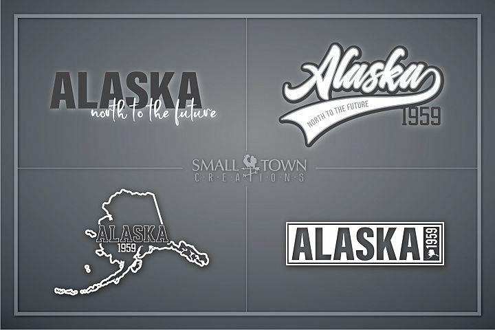 Alaska, North to the Future, Logo, PRINT, CUT & DESIGN