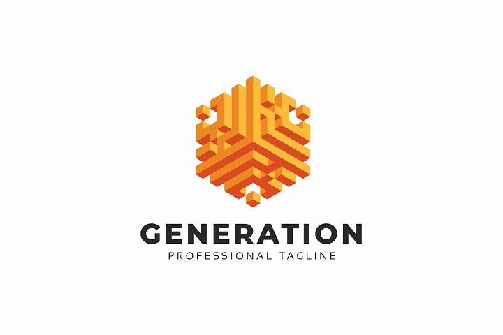 Generation 3D Logo