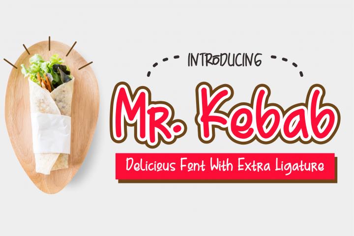 Mr. Kebab - Script Font