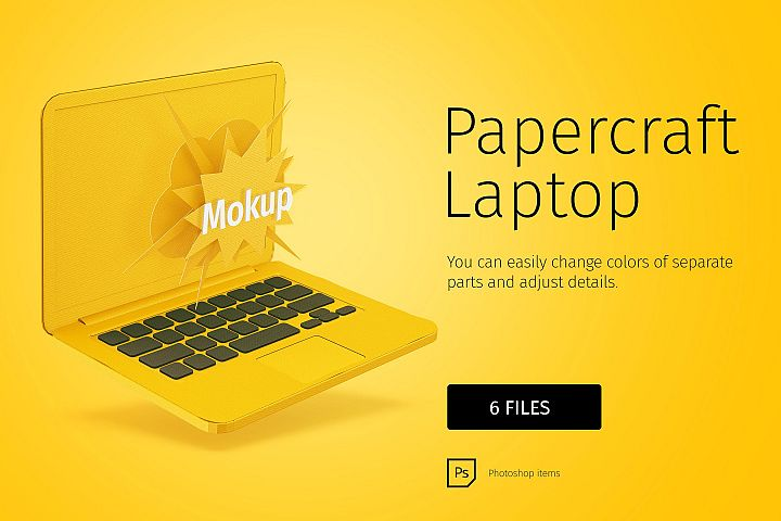 Papercraft Macbook