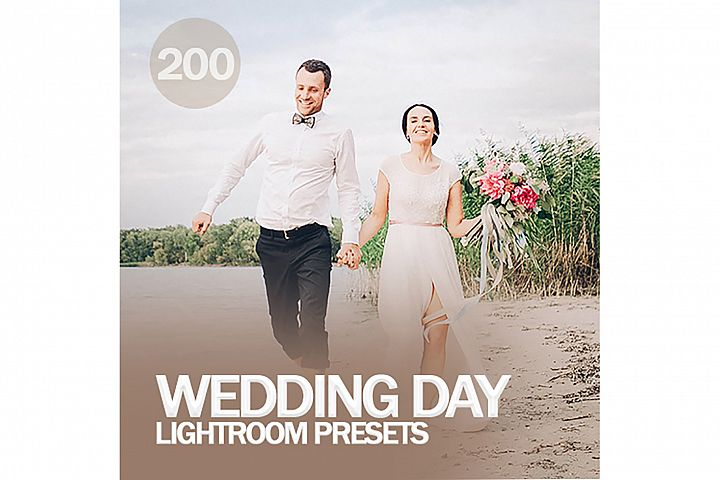 200 Wedding Day Lightroom Presets