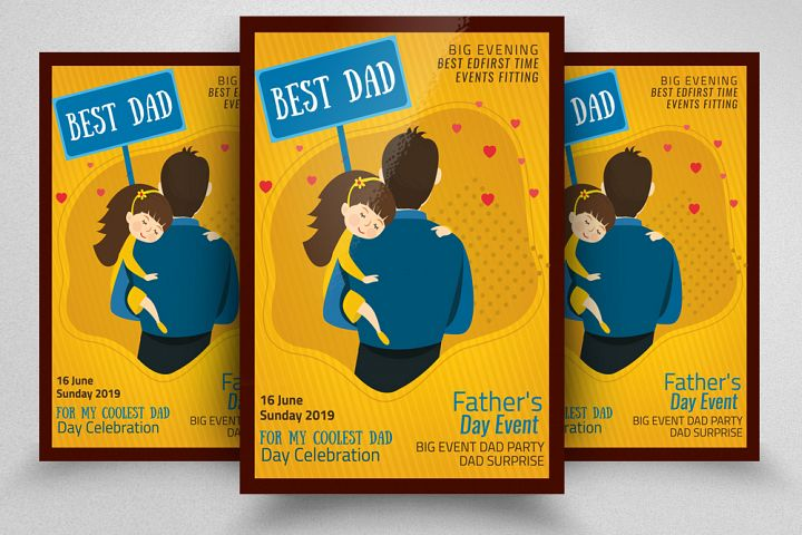 Fathers Day Event Flyer