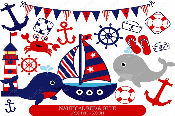 Nautical Clipart Set