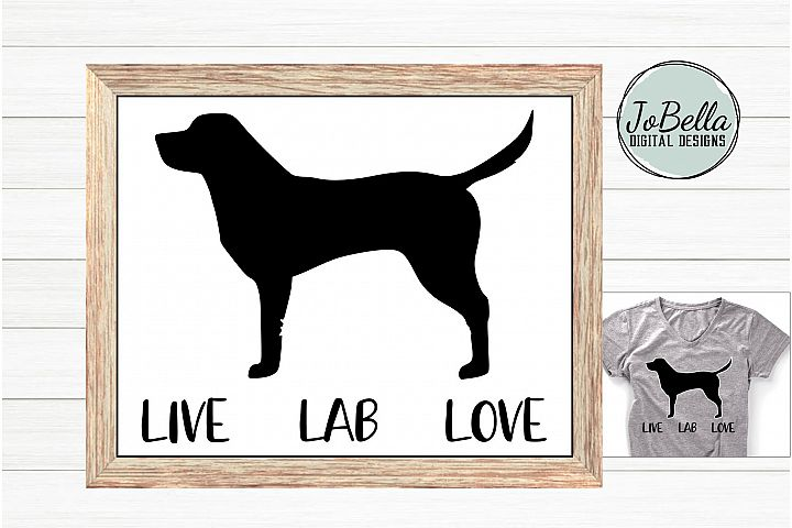 Labrador SVG and Printable Dog Lover Design