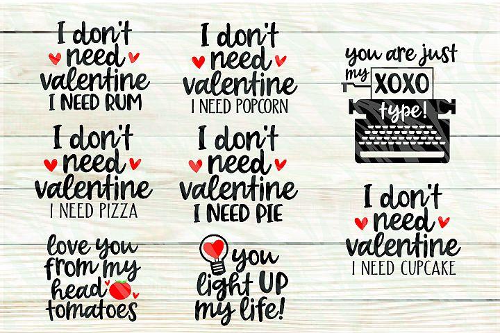 24 Printable Valentines