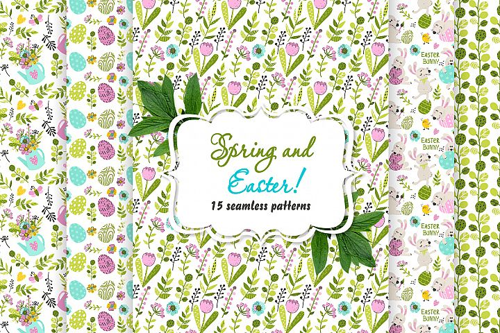 Collection of Spring and Easter patterns